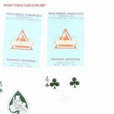 Barajas de cartas: BARAJA POKER HERACLIO FOURNIER.PUBLICIDAD LABORATORIOS WOLNER.54 CARTAS.. Lote 4905177