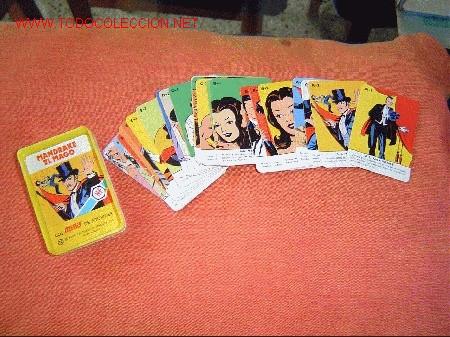 JUEGO 24 CARTAS LOS MINIS DE FOURNIER MANDRAKE EL MAGO. (Juguetes y Juegos - Cartas y Naipes - Barajas Infantiles)