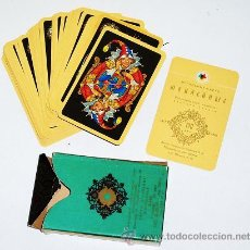 Barajas de cartas: BARAJA DE POQUER DE LA UNIÓN SOVIÉTICA AÑO 1970 - POKER URSS. Lote 16439039