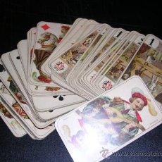 Barajas de cartas: BARAJA DE TAROT COMPLETA - FRANCESA 1890 - DIBUJOS CON ESTILO DE UN TAROT GERMANO ( ANTIGUA ). Lote 22442988