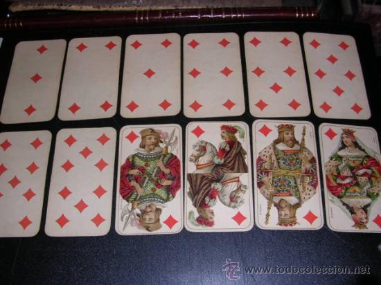 Barajas de cartas: BARAJA DE TAROT COMPLETA - FRANCESA 1890 - DIBUJOS CON ESTILO DE UN TAROT GERMANO ( ANTIGUA ) - Foto 4 - 22442988