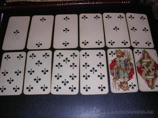 Barajas de cartas: BARAJA DE TAROT COMPLETA - FRANCESA 1890 - DIBUJOS CON ESTILO DE UN TAROT GERMANO ( ANTIGUA ) - Foto 5 - 22442988
