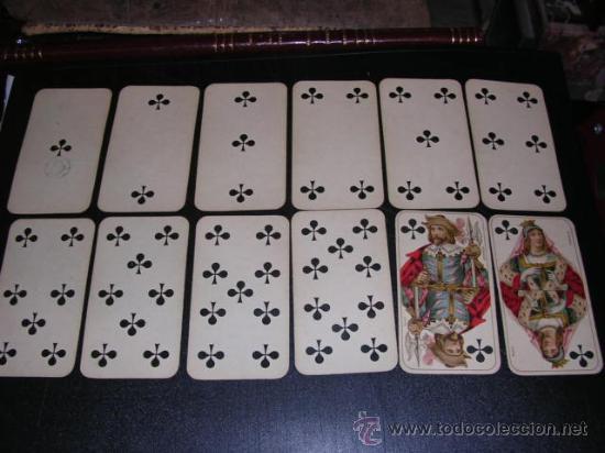 Barajas de cartas: BARAJA DE TAROT COMPLETA - FRANCESA 1890 - DIBUJOS CON ESTILO DE UN TAROT GERMANO ( ANTIGUA ) - Foto 6 - 22442988