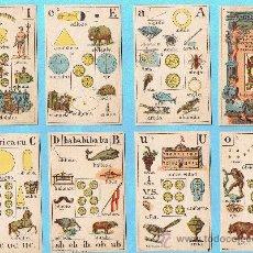 Barajas de cartas: BARAJA RECREO INFANTIL. NAIPES INSTRUCTIVOS POR D. JAIME MARGARIT. PALAMÓS, GERONA, 1888.. Lote 24839985