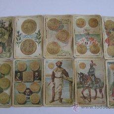 Barajas de cartas: BARAJA DE LA EXPOSICION IBEROAMERICANA DE SEVILLA Y BARCELONA.1929.40 CARTAS.COMPLETA. Lote 24212275