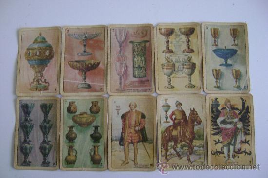 Barajas de cartas: BARAJA DE LA EXPOSICION IBEROAMERICANA DE SEVILLA Y BARCELONA.1929.40 CARTAS.COMPLETA - Foto 2 - 24212275