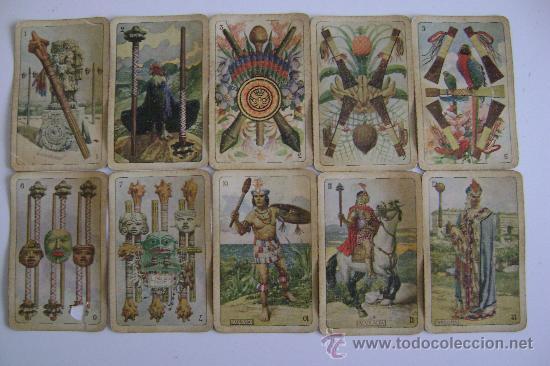 Barajas de cartas: BARAJA DE LA EXPOSICION IBEROAMERICANA DE SEVILLA Y BARCELONA.1929.40 CARTAS.COMPLETA - Foto 4 - 24212275