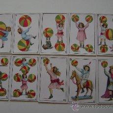 Barajas de cartas: BARAJA PUBLICITARIA DE MADRIGUERAS , BARCELONA .40 CARTAS .COMPLETA. Lote 16140849