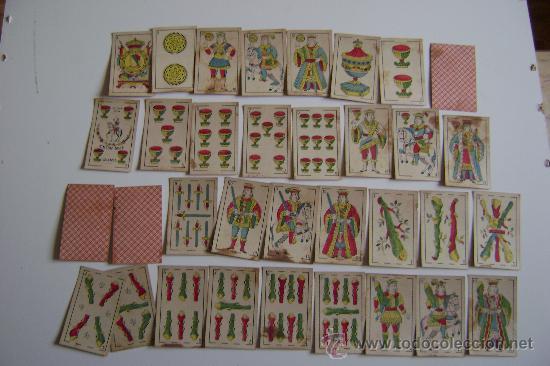 BARAJA DE SIMEON DURA .CIRCA 1920.INCOMPLETA (Juguetes y Juegos - Cartas y Naipes - Baraja Española)