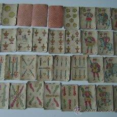 Barajas de cartas: BARAJA SIMEON DURA.INCOMPLETA. Lote 23671952