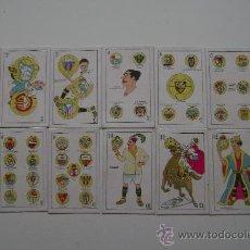 Barajas de cartas: BARAJA .LAS FASES DEL FUTBOL.48 CARTAS.COMPLETA. Lote 24212277