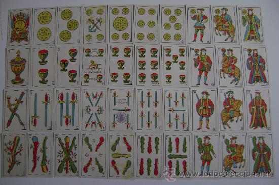 BARAJA LUIS GUARRO 40 CARTAS .COMPLETA (Juguetes y Juegos - Cartas y Naipes - Baraja Española)