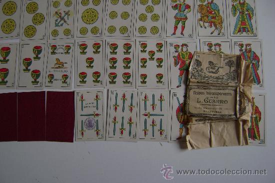 Barajas de cartas: BARAJA LUIS GUARRO 40 CARTAS .COMPLETA - Foto 2 - 24212270