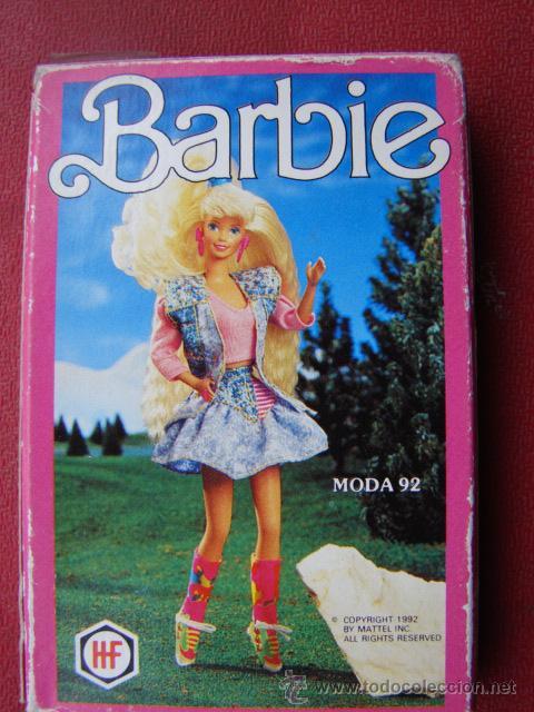 BARAJA DE CARTAS BARBIE - NAIPES - MODA 92 - FOURNIER (Juguetes y Juegos - Cartas y Naipes - Barajas Infantiles)
