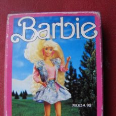 Barajas de cartas: NAIPES - BARBIE - MODA 92 - FOURNIER. Lote 26206035