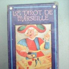 Barajas de cartas: LE TAROT DE MARSEILLE--TODOS LOS ARCANOS -SIN USAR NUNCA-CASA FOURNIER-. Lote 23310328