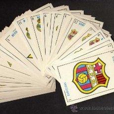 Baralhos de cartas: BARAJA DEPORTIVA: EQUIPOS FUTBOL: BARCELONA BARÇA, REAL MADRID, BETIS BALOMPIE Y ATHLETIC BILBAO. Lote 11005099