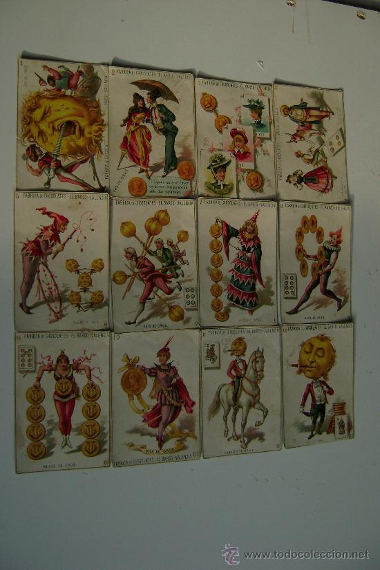 BARAJA COMPLETA DE 48 CARTAS.LA GRANDE DE CHOCOLATES EL BARCO (Juguetes y Juegos - Cartas y Naipes - Baraja Española)