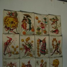 Barajas de cartas: BARAJA COMPLETA DE 48 CARTAS.LA GRANDE DE CHOCOLATES EL BARCO. Lote 16120212