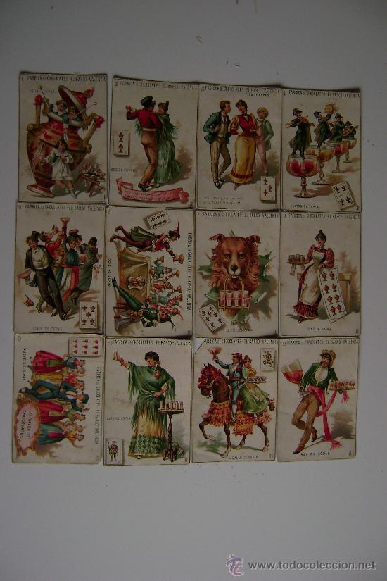 Barajas de cartas: BARAJA COMPLETA DE 48 CARTAS.LA GRANDE DE CHOCOLATES EL BARCO - Foto 2 - 16120212