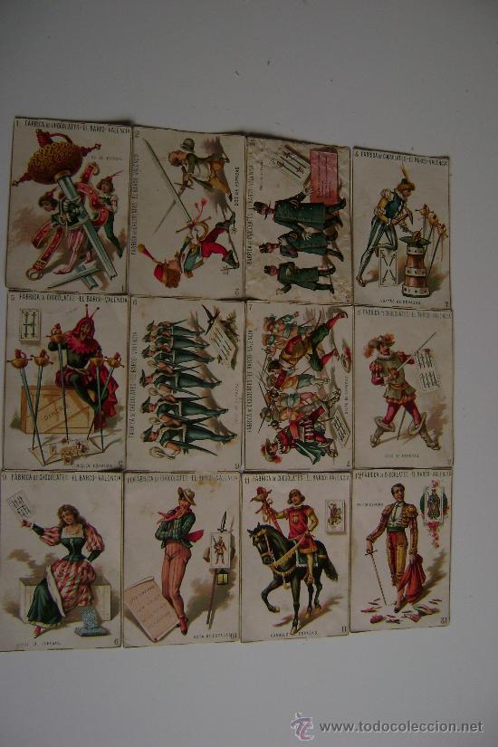 Barajas de cartas: BARAJA COMPLETA DE 48 CARTAS.LA GRANDE DE CHOCOLATES EL BARCO - Foto 3 - 16120212
