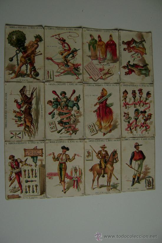 Barajas de cartas: BARAJA COMPLETA DE 48 CARTAS.LA GRANDE DE CHOCOLATES EL BARCO - Foto 4 - 16120212