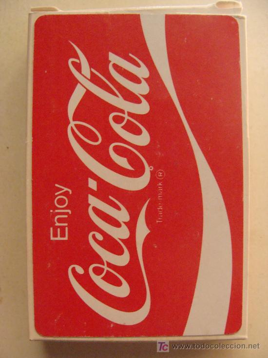 BARAJA DE CARTAS DE COCA COLA. AÑOS 70. DISFRUTA COCA COLA. ENJOY COCA COLA. PRECINTADA. (Juguetes y Juegos - Cartas y Naipes - Otras Barajas)