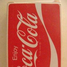 Barajas de cartas: BARAJA DE CARTAS DE COCA COLA. AÑOS 70. DISFRUTA COCA COLA. ENJOY COCA COLA. PRECINTADA. . Lote 11463778