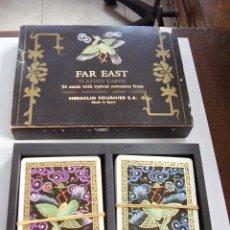 Barajas de cartas: BARAJA CARTAS FAR EAST PLAYING CARDS. Lote 25963486