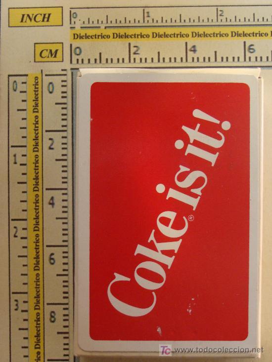 Barajas de cartas: BARAJA DE CARTAS DE COCA COLA. AÑOS 70. COCA COLA LO ES¡. COCA COLA IS IT¡. PRECINTADA. - Foto 3 - 11463421