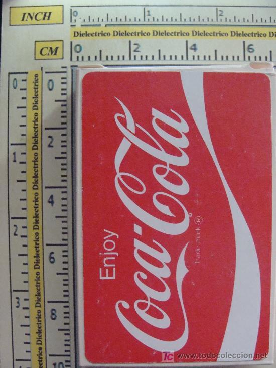 Barajas de cartas: BARAJA DE CARTAS DE COCA COLA. AÑOS 70. DISFRUTA COCA COLA. ENJOY COCA COLA. PRECINTADA. - Foto 2 - 11463778