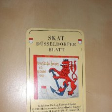 Barajas de cartas: BARAJA,JUEGO DE CARTA - SKAT -DÜSSELDORFER. Lote 11606580