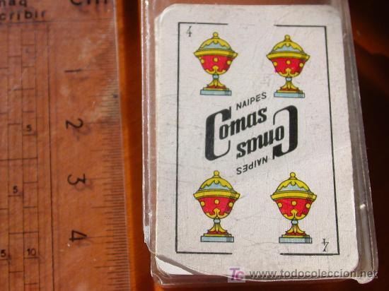 BARAJA ESPAÑOLA. MINI LILIPUT NAIPES COMAS. (Juguetes y Juegos - Cartas y Naipes - Otras Barajas)