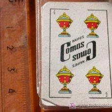Barajas de cartas: BARAJA ESPAÑOLA. MINI LILIPUT NAIPES COMAS. . Lote 23195646