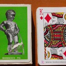 Barajas de cartas: NAIPES. CARTAS POKER. TURISMO BÉLGICA. MENNKEN PIS. Lote 22863301