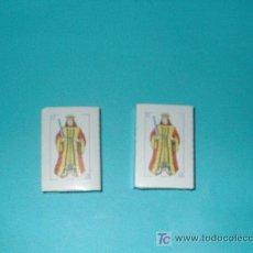 Barajas de cartas: LOTE 2 BARAJAS PEQUEÑAS ESPAÑOLAS. Lote 22554967