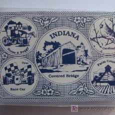 Barajas de cartas: BARAJA DE CARTAS DE POKER DE ESTADOS UNIDOS. ESTADO DE INDIANA. INDIANAPOLIS. PRECINTADA. . Lote 12160881