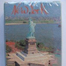 Barajas de cartas: BARAJA DE CARTAS DE POKER DE ESTADOS UNIDOS. NUEVA YORK. ESTATUA DE LA LIBERTAD. PRECINTADA. . Lote 12160946