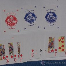 Barajas de cartas: BARAJA DE POKER CON CARTAS MINI 6X4 CMS .. Lote 12176634