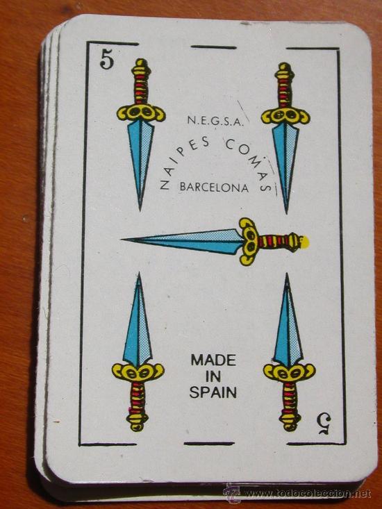 Barajas de cartas: Baraja Española. Mini Liliput Naipes Comas. - Foto 2 - 23195646