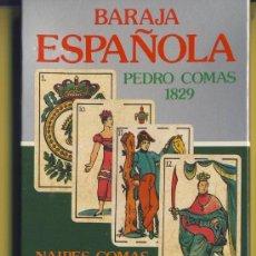 Barajas de cartas: NAIPE-NAIPES-BARAJA-PUBLICITARIAS-TAROT-BARAJA ESPAÑOLA-NAIPES COMAS -1797-1987. Lote 20612893