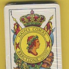 Barajas de cartas: NAIPE-NAIPES-BARAJA-PUBLICITARIAS-TAROT-NAIPE 2-S -COMAS -TALLERES GRAFICOS SOLER. Lote 20612896