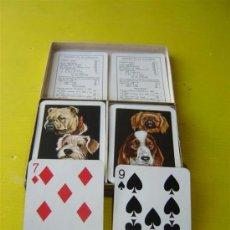 Barajas de cartas: 2 BARAJA DE CARTAS GRANDE POKER. Lote 12791740