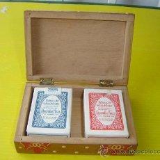 Barajas de cartas: BARAJA DE CARTAS PEQUEÑAS DE POKER. Lote 12800300