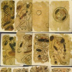 Barajas de cartas: BARAJA DE COLECCION ITALIANA A LA MORISCA DATA DEL SIGLO XIV 1390 COLECCION DE HACE UNOS AÑOS . Lote 19070769