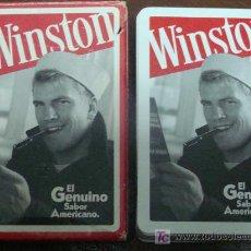 Jeux de cartes: BARAJA DE CARTAS ESPAÑOLA. FOURNIER. TABACOS WINSTON. MARINERO. TABACO AMERICANO. 50 NAIPES. . Lote 13019066