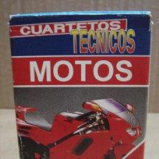 Barajas de cartas: BARAJA CUARTETOS TECNICOS MOTOS HERACLIO FOURNIER 1995 ¡¡COMPLETA ¡¡. Lote 19377318