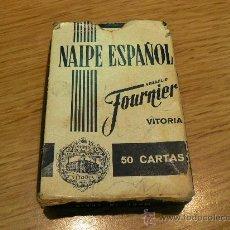 Barajas de cartas: BARAJA NAIPE ESPAÑOL HERACLIO FOURNIER. Lote 26538850