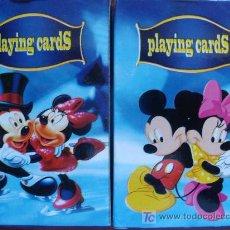 Jeux de cartes: 2 BARAJAS INFANTILES. MICKEY MOUSE Y MINNIE MOUSE. DISNEY. PERFECTAS. . Lote 13183862