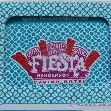 Jeux de cartes: BARAJA DE PÓKER DE CASINO EN USA: FIESTA RANCHO LAS VEGAS. AZUL. PERFECTA. PRECINTADA. . Lote 13242034